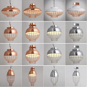 Modern-Copper-Metal-Loft-Pendant-Lighting
